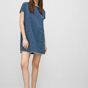 🐦 Wilfred Free | Denim Shirt Dress - BNWT